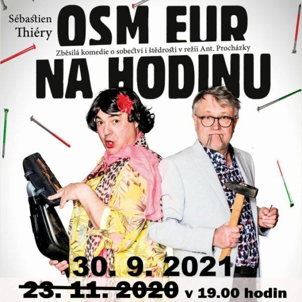 Plakát OSM EUR NA HODINU – Sébastien Thiéry