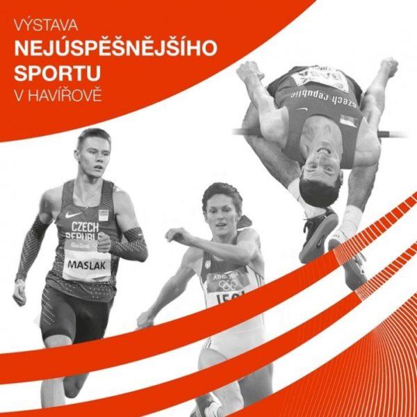Plakát Videoprezentace z výstavy nejúspěšnějšího sportu v Havířově