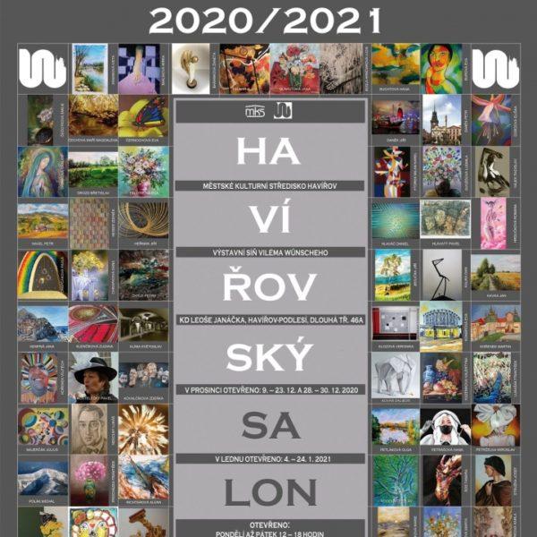 Plakát Videoprezentace z výstavy HAVÍŘOVSKÝ SALON