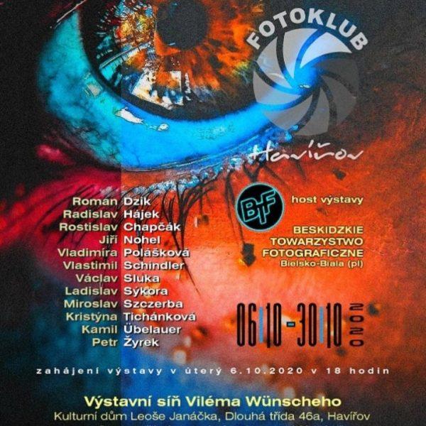 Plakát Videoprezentace z výstavy fotografií členů fotoklubu Havířov