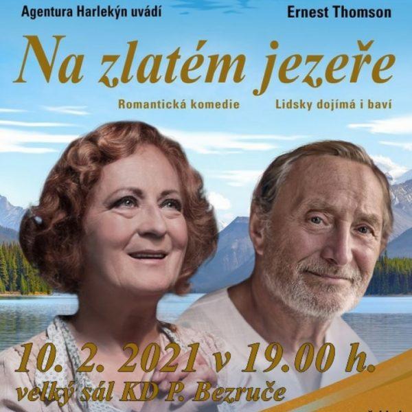 Plakát NA ZLATÉM JEZEŘE – Ernest Thompson