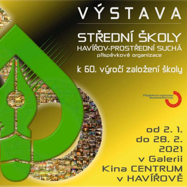 Plakát Videoprezentace z výstavy k 60. výročí založení školy