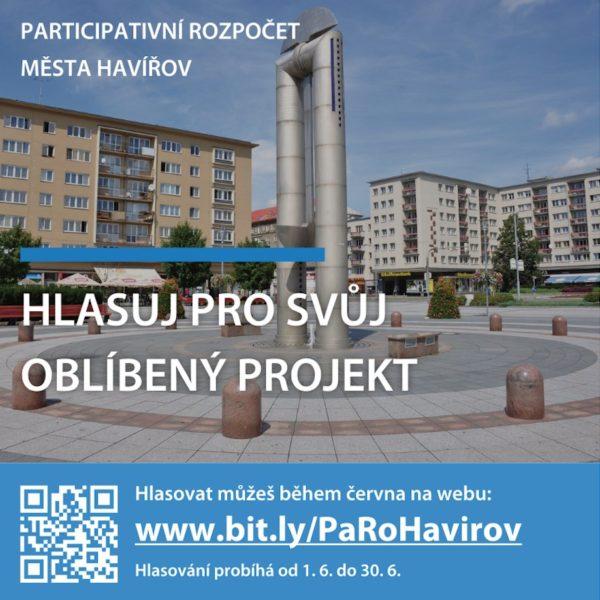 Plakát Participativní rozpočet města Havířova 2021