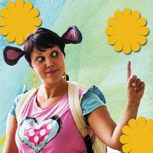 Plakát Trampská pohádka s myškou Klárkou a veverkou Terkou
