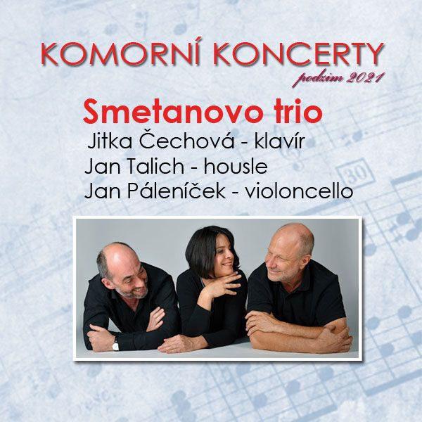 Plakát SMETANOVO TRIO – Komorní koncert