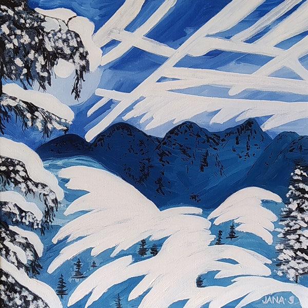 Plakát Jana Sušilová – výstava obrazů havířovské malířky