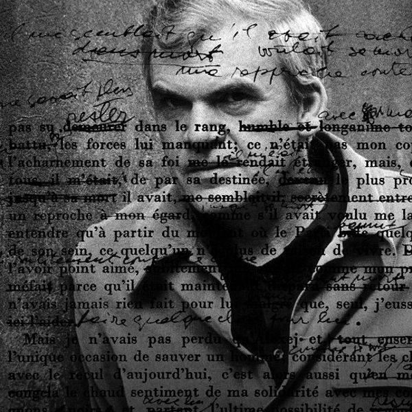 Plakát Milan Kundera: Od Žertu kBezvýznamnosti
